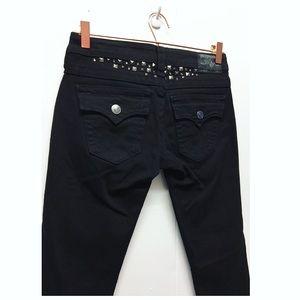 True Religion | Black Julie Skinny Jeans Studded